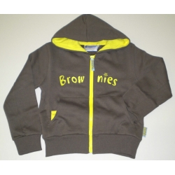 Brownie Guide Uniform  Hooded Zip Jacket