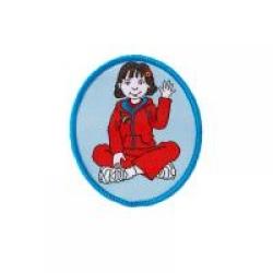 Rainbow Guide Oliva Cloth Badge