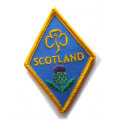 Girl Guiding Scotland Diamond Badge