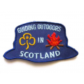 Girl Guiding Scotland Hat Badge