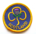 Girl Guiding Scotland Circular Badge