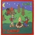 1st Cub Camp Badge