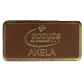Leather Akela Badge