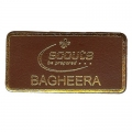 Leather Bagheera Badge