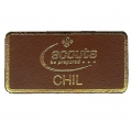 Leather Chil Badge