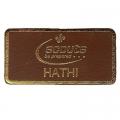 Leather Hathi Badge