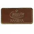Leather Raksha Badge