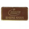 Leather Shere Khan Badge