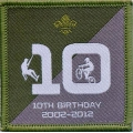 Network Scout and  Explorer Scout 10th Birthday Badge