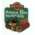 Beaver Scout Birthday Badge age 8