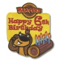 Beaver Scout Birthday age 6 badge