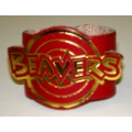 Beaver Scout Leather Woggle