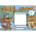 Beaver Scout Well Done Certificates