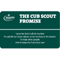 Cub Scout Non-religious Alternative Law and Promise Card