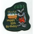Cub Scout 10th Birthday Badge