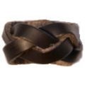 Scout Plaited leather woggle