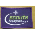 Scout Embroided Small Badge