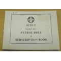Scout Patrol Roll Book