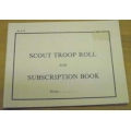 Scout Troop Roll Book