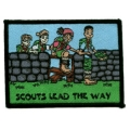 Scouts Lead the way fun badge