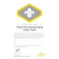 Cub Scout Chief Scout Silver Award Certificates
