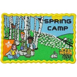 Spring Camp Badge