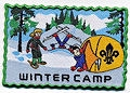Winter Camp Badge
