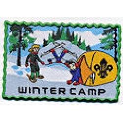 Winter Camp Badge