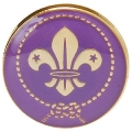 World Scout Membership Clutch Badge