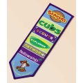 Scouting Woven Bookmark Badge